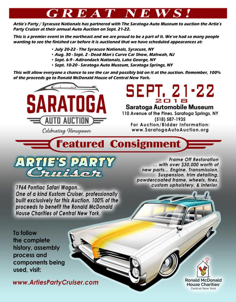 Artie\'s Party Cruiser – a one of a kind 1964 Pontiac Safari Wagon. A ...